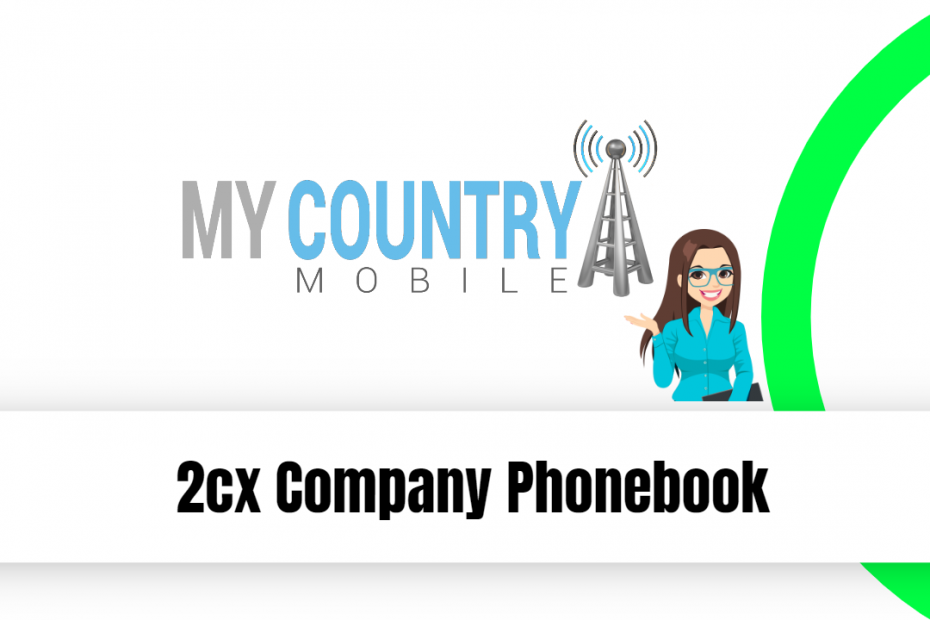 2cx Company Phonebook - My Country Mobile